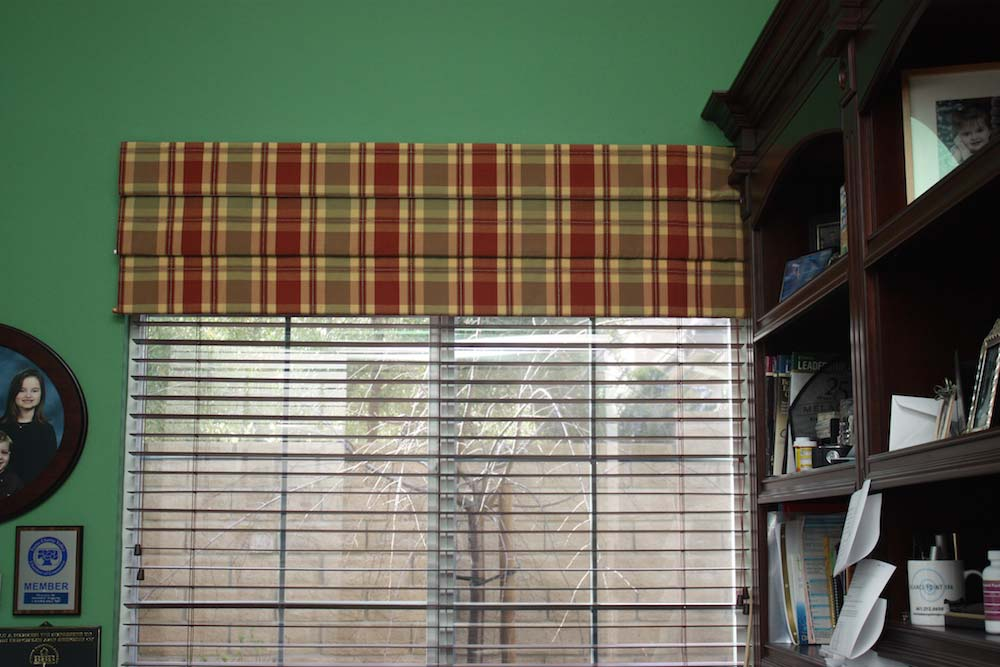 Custom Blinds and Valance
