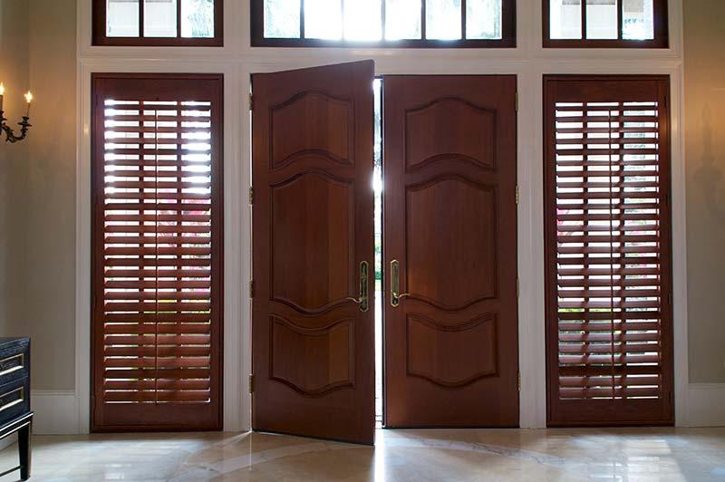 Interior Wood Window Shutters