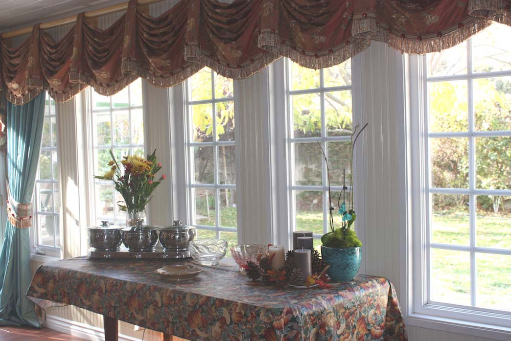 Kingston Valance with Drapery Panels