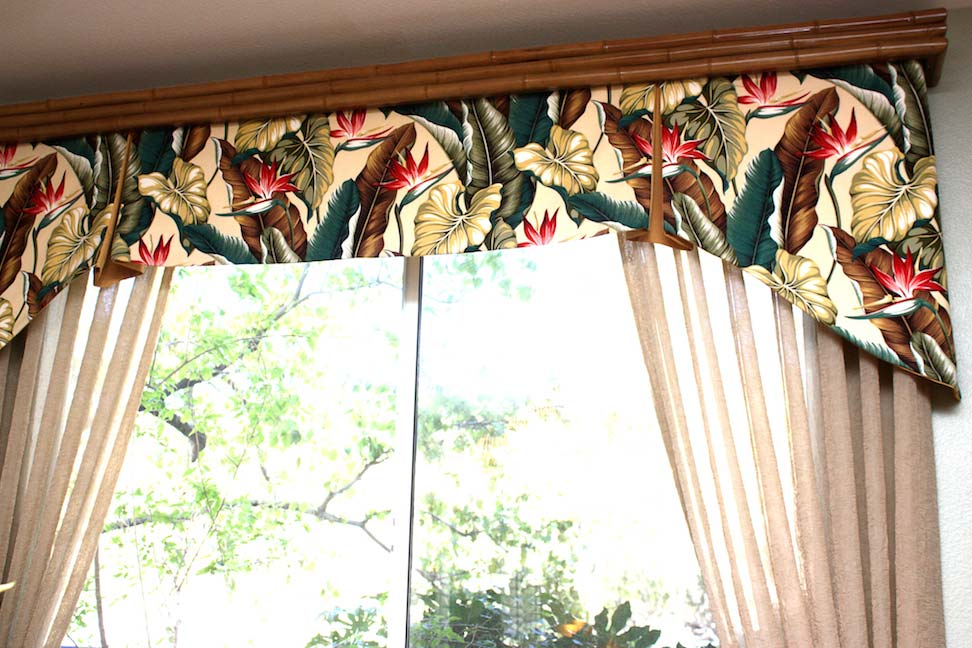 Lovely Custom Drapes and Valance