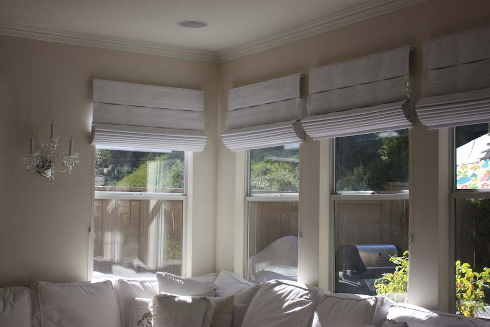 Multiple Shades Installed on Home Windows